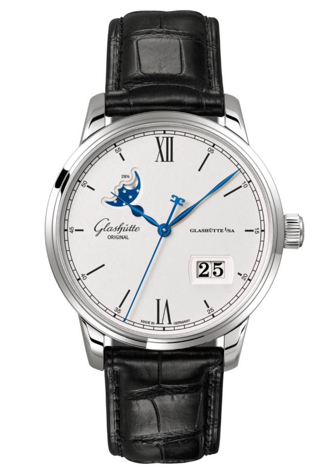 Senator Excellence Panorama Date Moon Phase - 1-36-04-01-02-30
