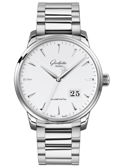 Senator Excellence Panorama Date, Stainless steel (1-36-03-05-02-71)
