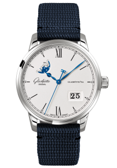 Senator Excellence Panorama Date Moon Phase, Synthetic (1-36-04-01-02-34)