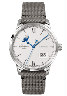 Senator Excellence Panorama Date Moon Phase, Synthetic (1-36-04-01-02-36)
