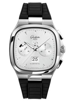 Seventies Chronograph Panorama Date, Rubber strap (1-37-02-02-02-33)