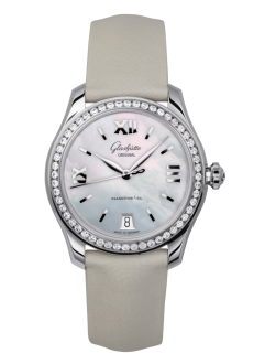 Lady Serenade, Calfskin leather strap (1-39-22-08-22-04)