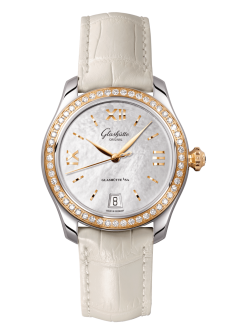 Lady Serenade, Louisiana Alligator leather strap (1-39-22-09-16-04)