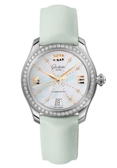 Lady Serenade, Calfskin leather strap (1-39-22-12-22-04)