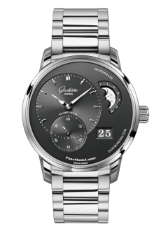 PanoMaticLunar, Stainless steel (1-90-02-43-32-71)