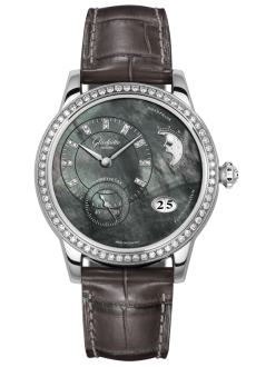 PanoMatic Luna, Louisiana Alligator leather strap (1-90-12-02-12-02)